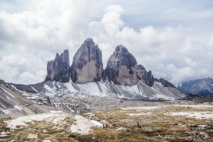 Dolomitenregion Drei Zinnen - Die Drei Zinnen in voller Pracht