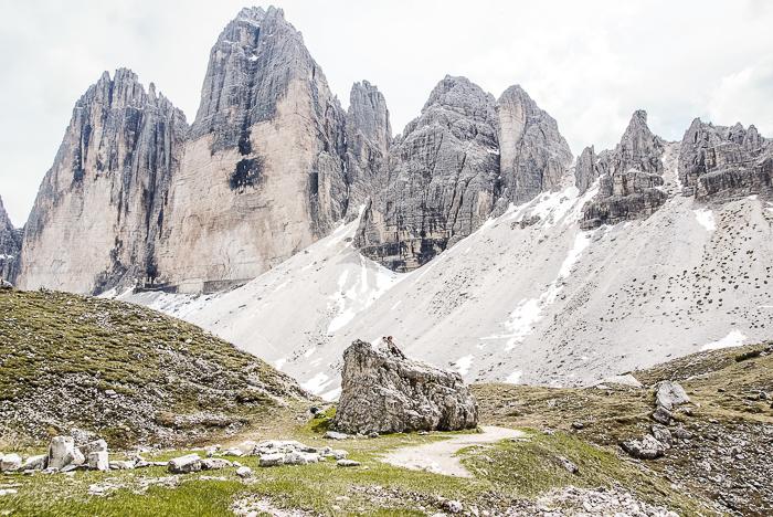 Dolomitenregion Drei Zinnen - Pause machen