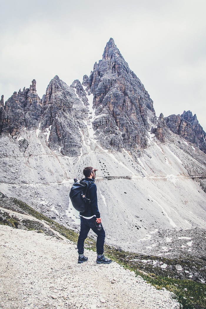 Dolomitenregion Drei Zinnen Rundwanderung um die Drei Zinnen in Südtirol