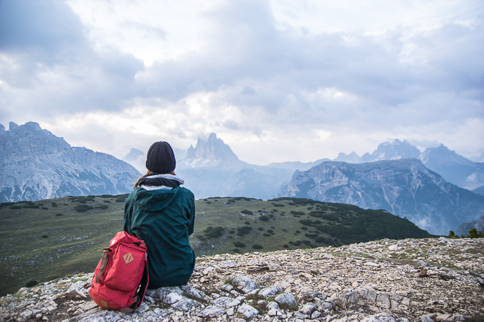 Dolomitenregion Drei Zinnen - Sonnenaufgang am Strudelkopf