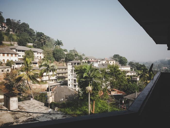 Kandy Guesthouse Aussicht
