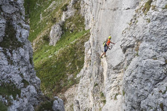Klettersteig Wilder Kaiser : Bergsport am wilden kaiser gründe warum anfänger glücklich werden