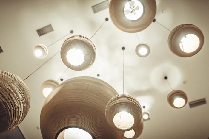 Lampen vom Seehuus Hotel