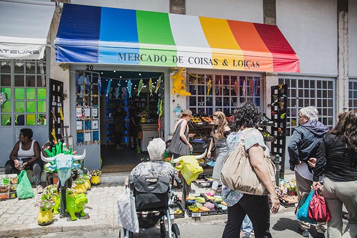 Mercado da Cosas & Loicas Lissabon