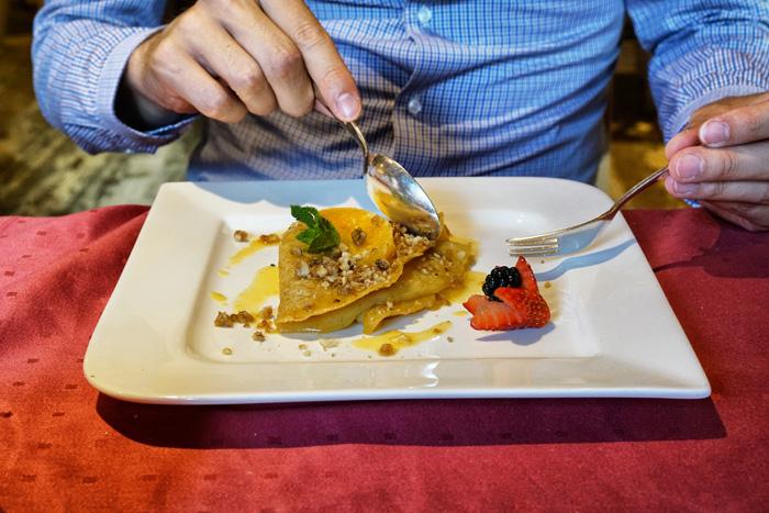 Nachtisch Restaurant Hotel Saigerhöh