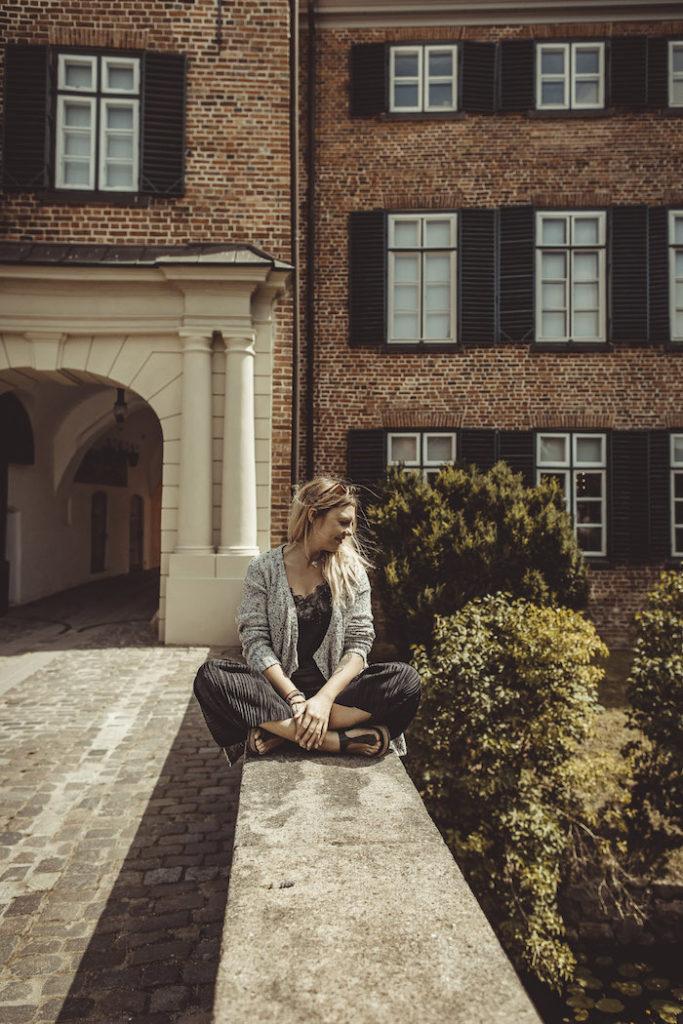 Pausieren im Schloßgarten
