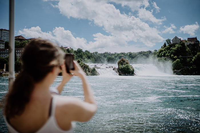 Rheinfall Schaffhausen Wasserfall
