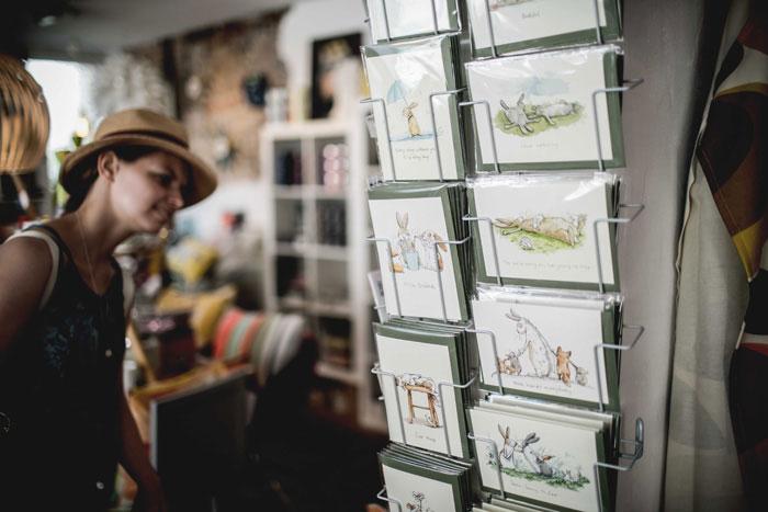 Postkarten Nägel Shop