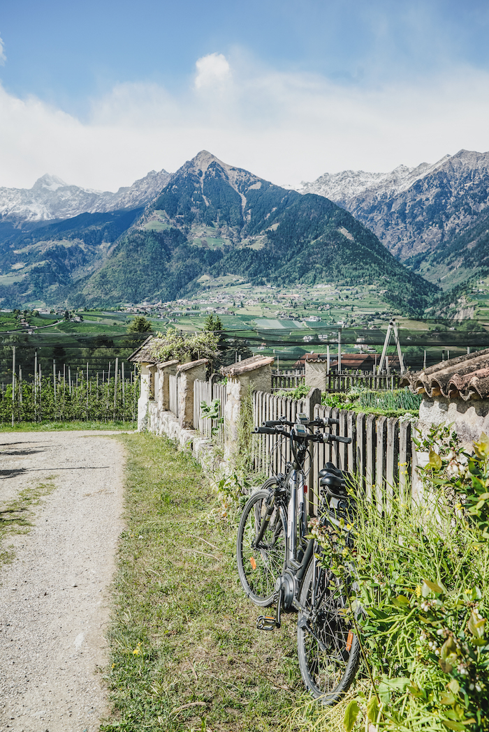 Radfahren in Meran