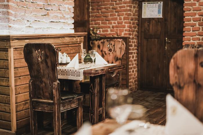 Rustikales Restaurant in Rumänien