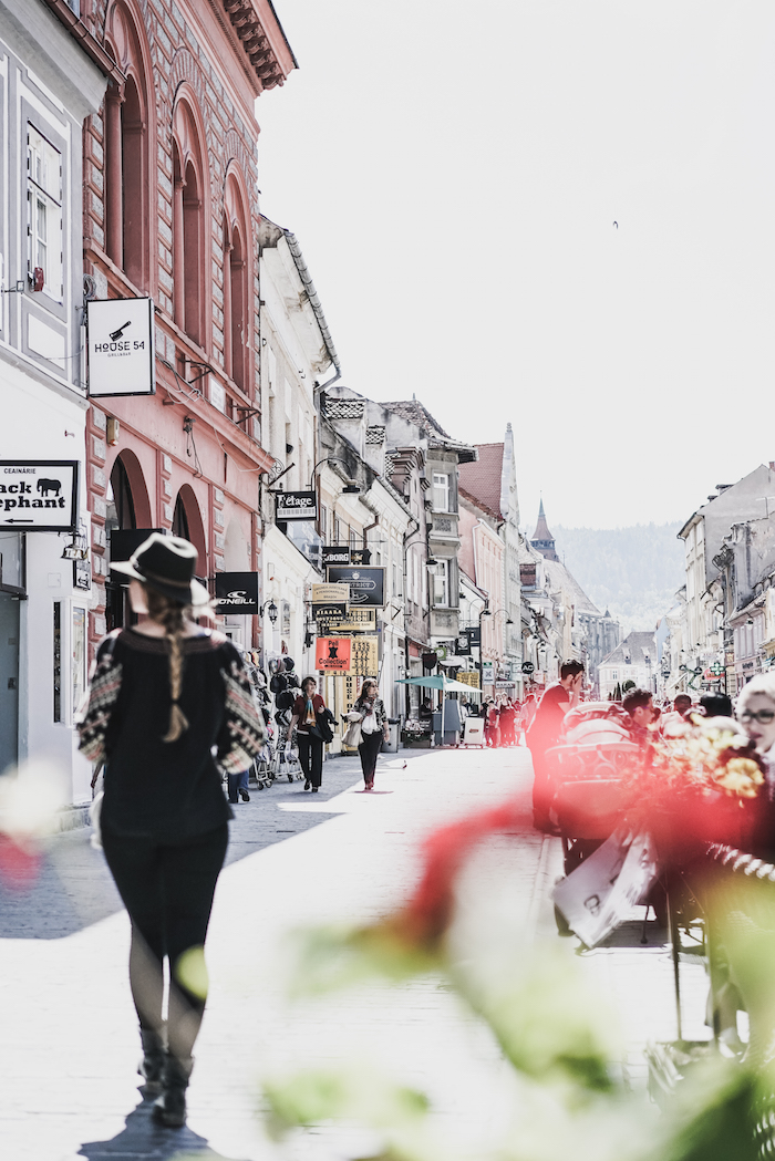 Shopping in Rumaenien
