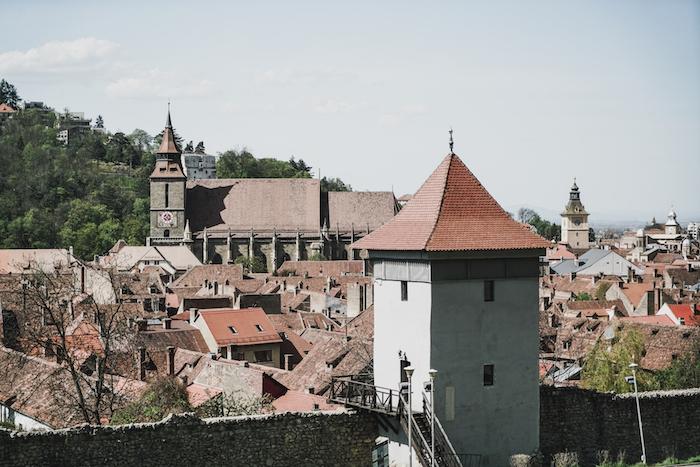 Stadtmauern in Brasov