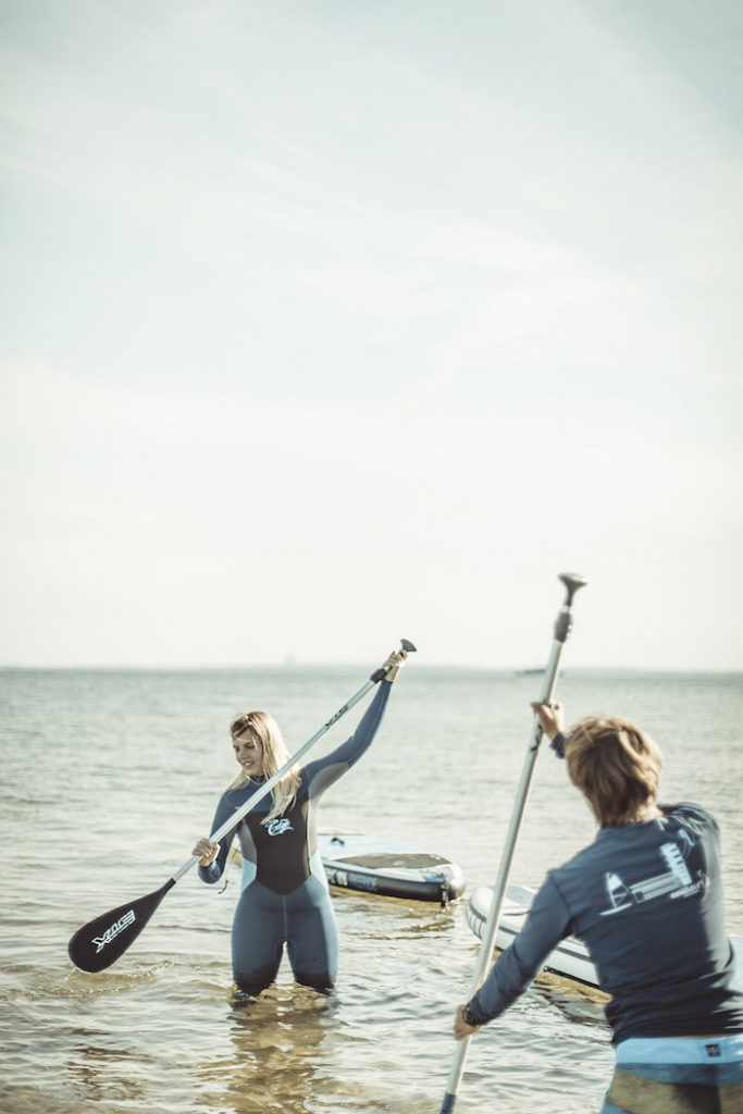 Stand Up Paddling Ostsee