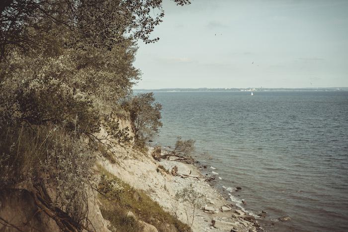 Steilküste in Brodten
