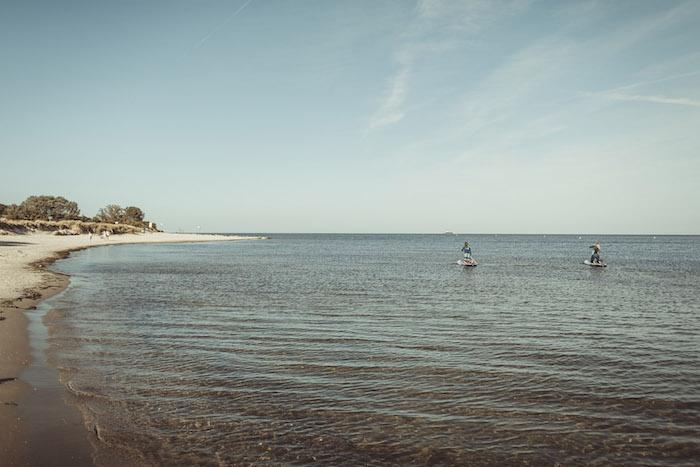 StandUpPaddling Ostsee