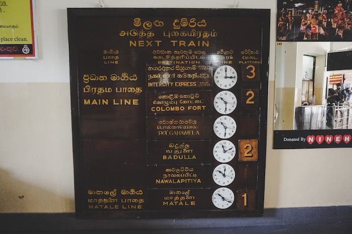 Sri Lanka Backpacking
