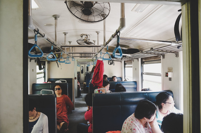 Zug nach Kandy