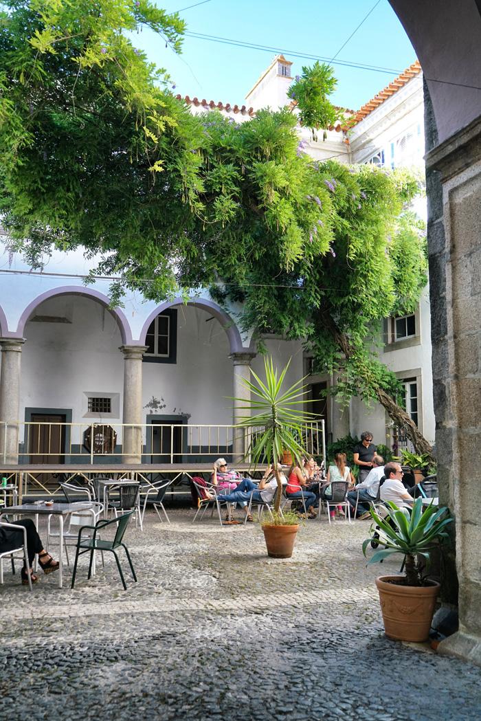 Art Café Innenhof