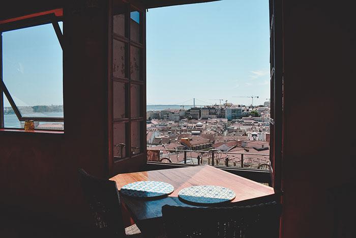 Aussicht auf Lissabon