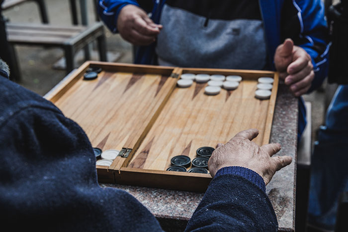 Backgammon Rumänien
