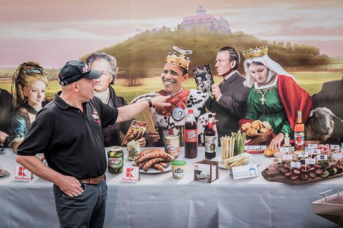 Bratwurst Festmahl Arno Funke