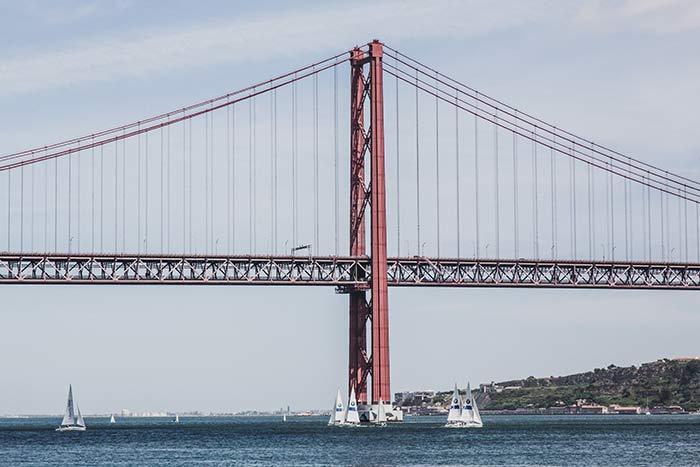 Brücke 25. August Lissabon