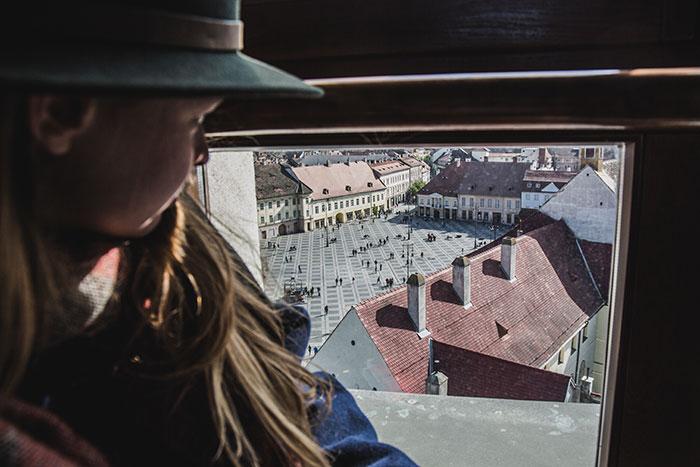 Christine Neder in Sibiu
