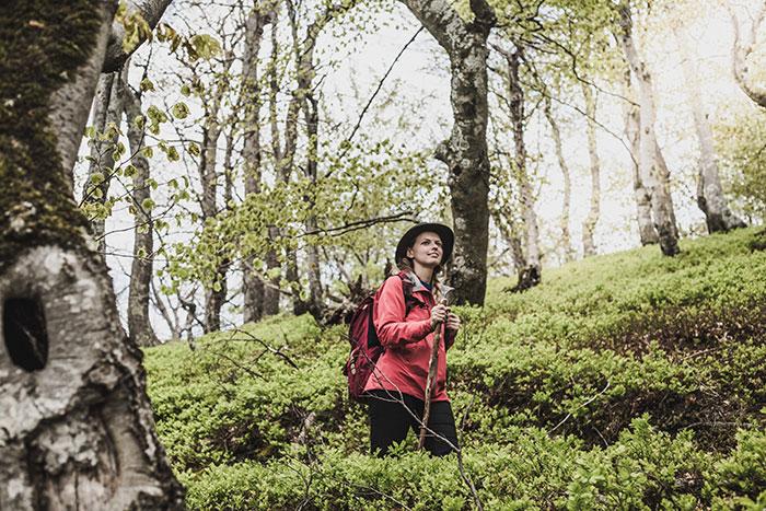 Christine Neder Wandern in Rumänien