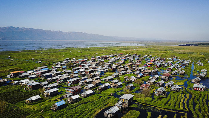 Drone Inle See