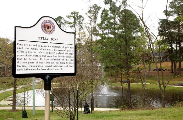 Park um Elvis Birthplace in Tupelo