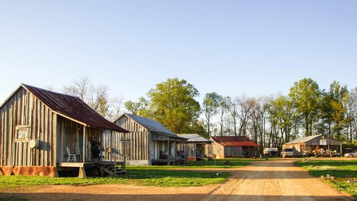 außergewöhnliche Unterkunft auf einem Roadtrip durch Mississippi