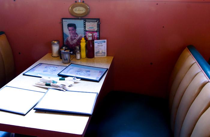 Elvis Booth Arcade Memphis