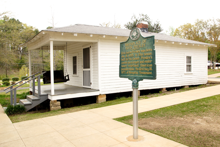 Elvis Birthplace in Tupelo