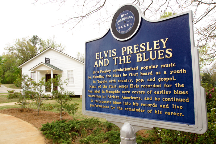 Elvis Kirche in Tupelo
