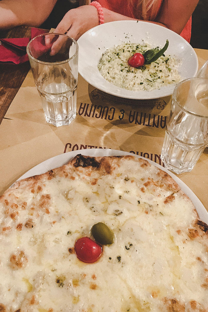 Essen rom Italien