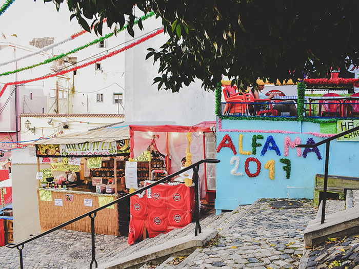 Fest Heiliger Antonius Lissabon