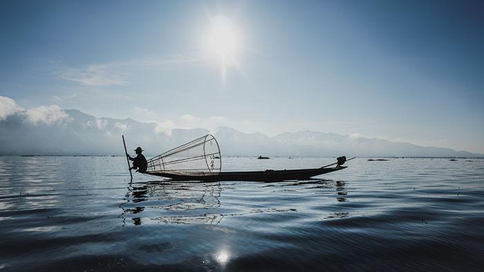 Fischermann Inle See