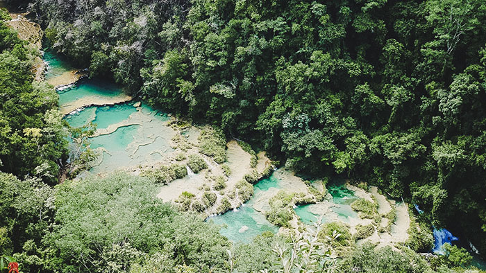 Guatemala Quellen Semuc Champey