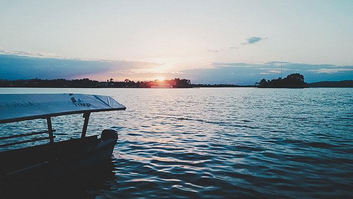 Guatemala Sonnenuntergang