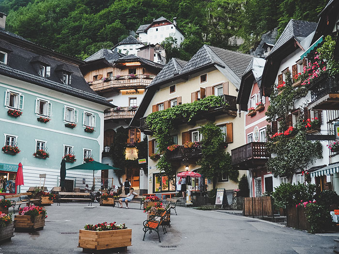 Hallstatt City Center