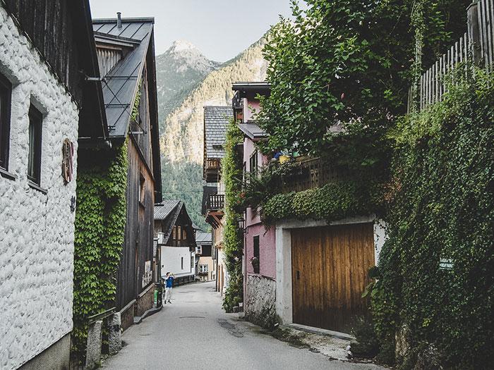 Hallstatt in Oberoesterreich