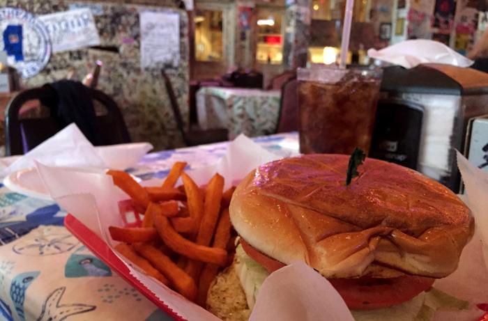 Burger im Ground Zero