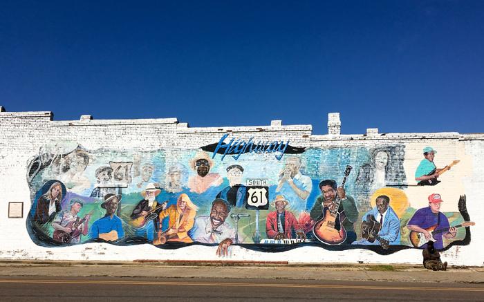 Mural in Leland
