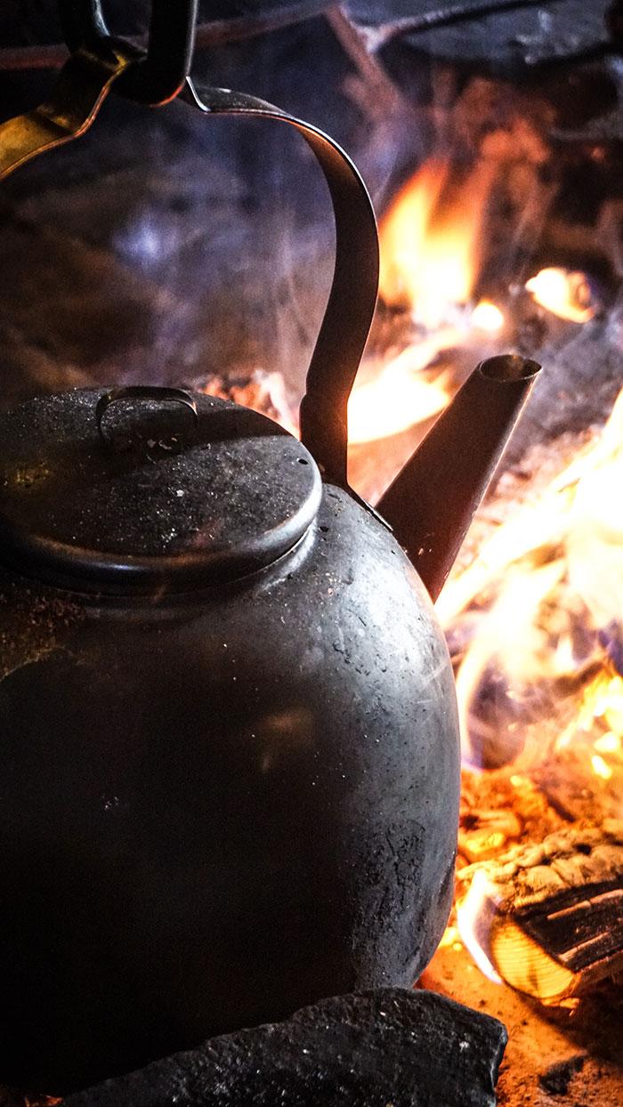 Kaffee uberm Feuer