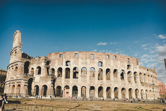Kolosseum Architektur