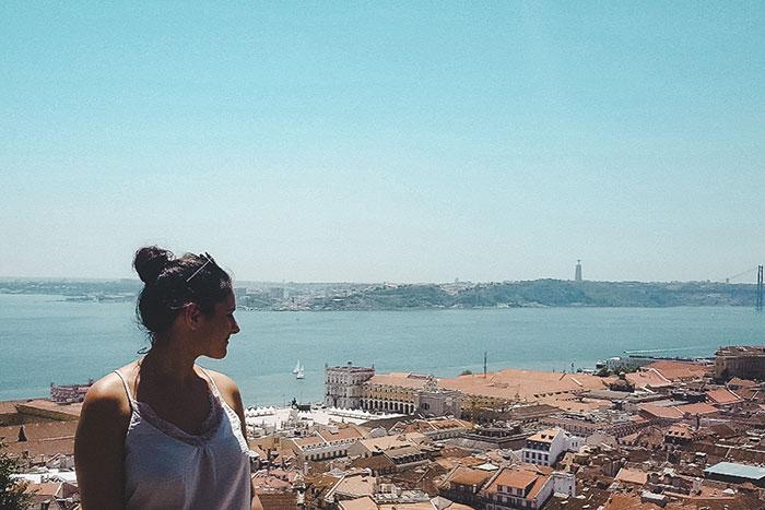 Küste Lissabon