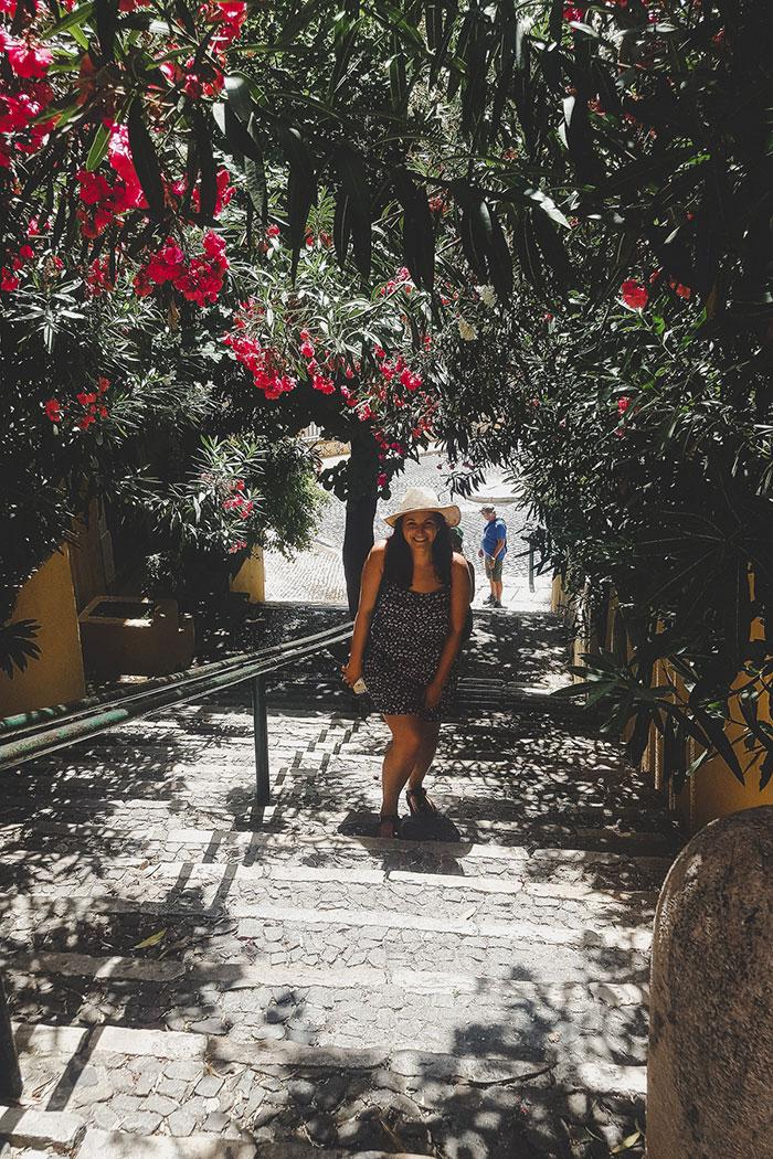Lissabon Treppen