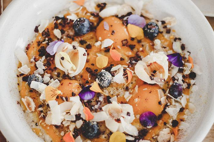 Mango-Lychee-Porridge