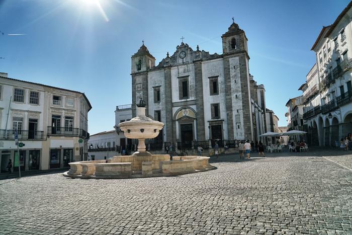 Marktplatz Evora