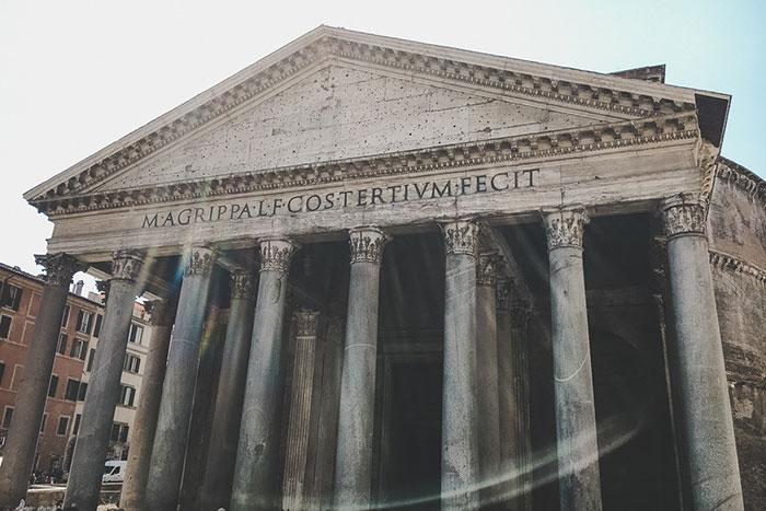 Pantheon Saeulen